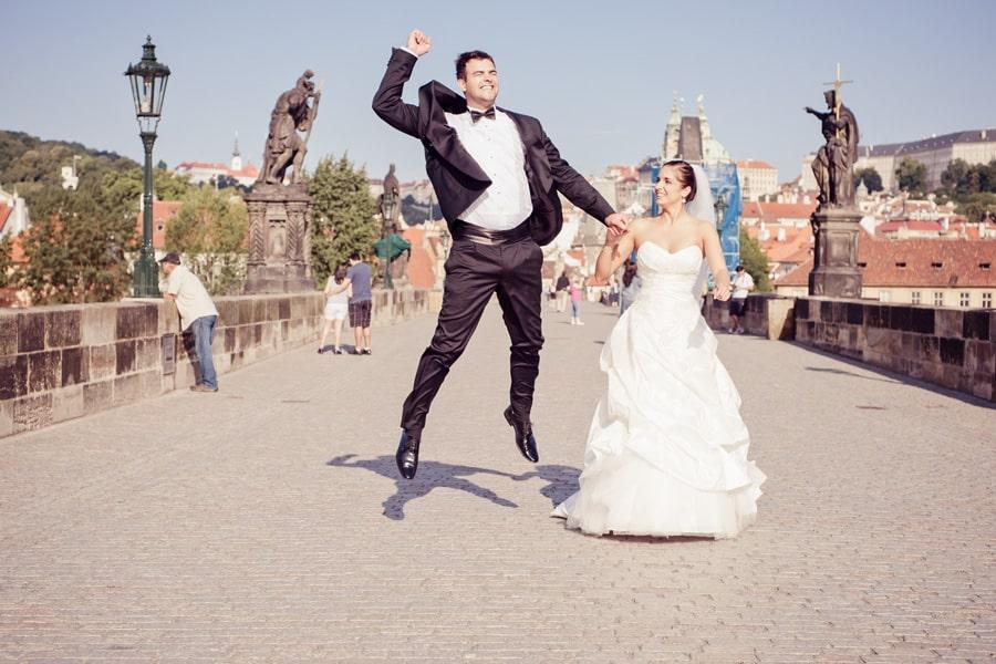 Свадьба в Праге - Карлов Мост