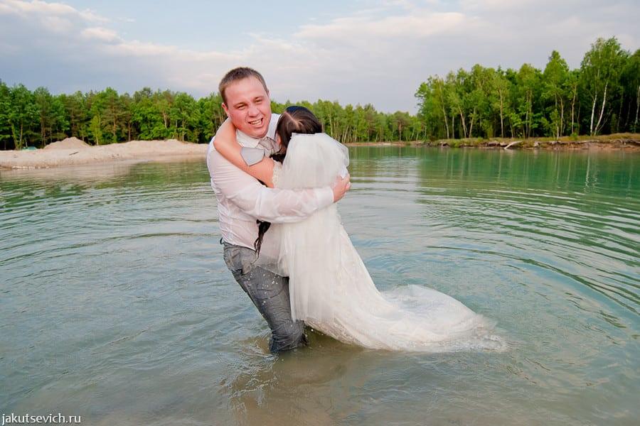 свадебная фотосессия после свадьбы в Бресте