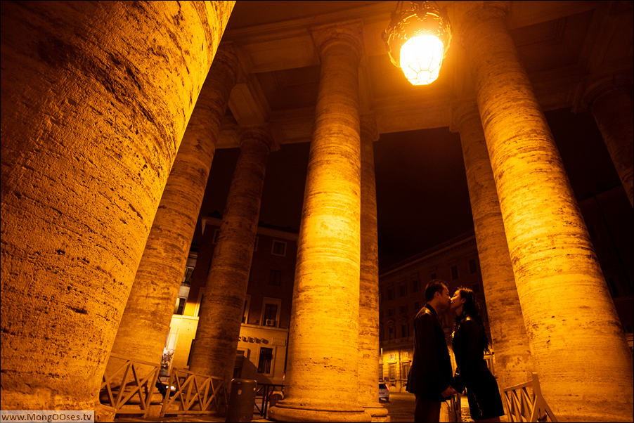 ночной Ватикан