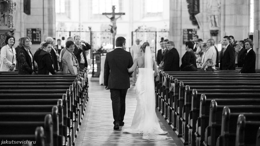 Свадебная церемония за границей в Германии