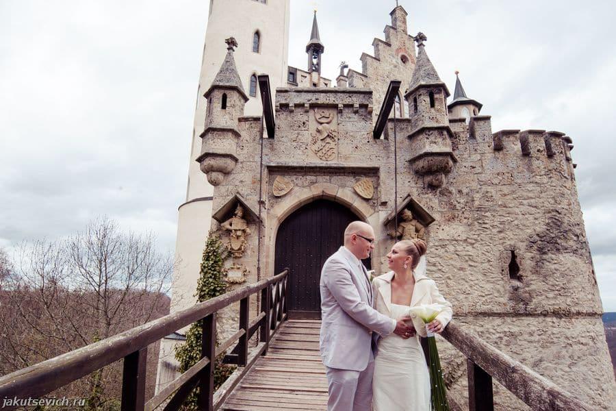 Свадьба  в замке Лихтенштейн - фотограф в Германии Артур Якуцевич