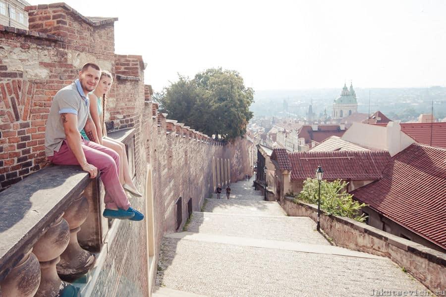 Пражский Град - фотосессия в Праге