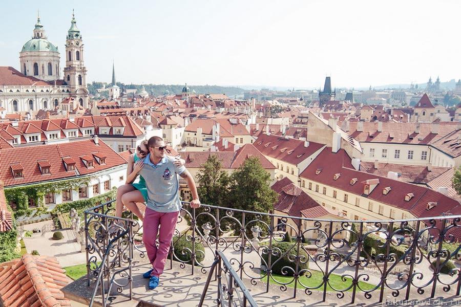 Красные крыши Праги - фотограф Артур Якуцевич