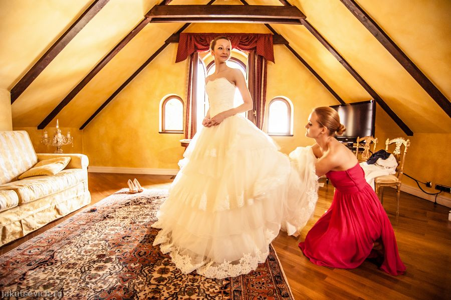 Утро невесты в отеле Alchymist Grand Hotel and Spa