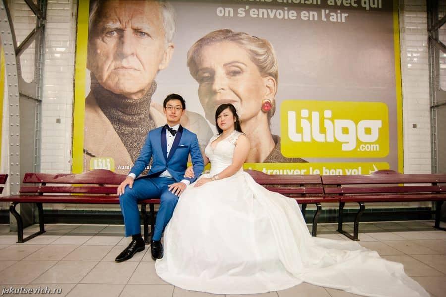 свадебное путешествие в Париж - фотограф Артур Якуцевич
