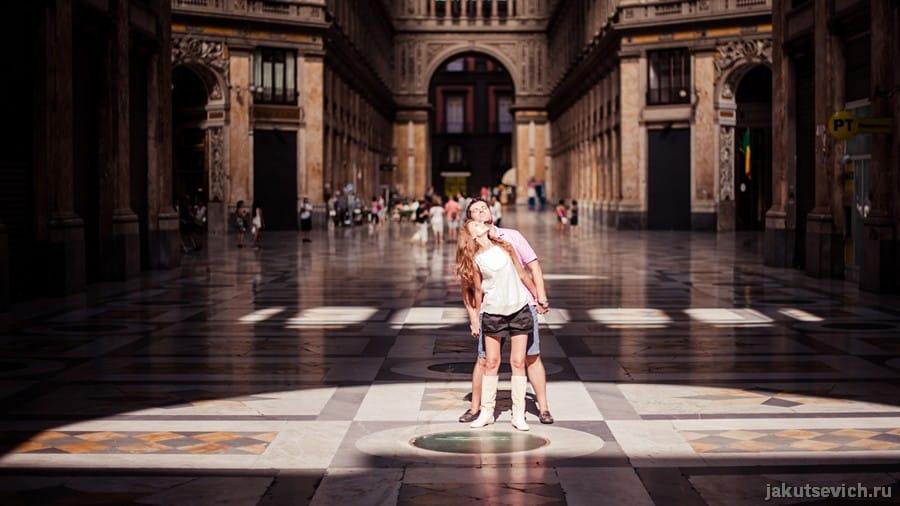 Фотосессия в Неаполе - фотограф в Италии Артур Якуцевич