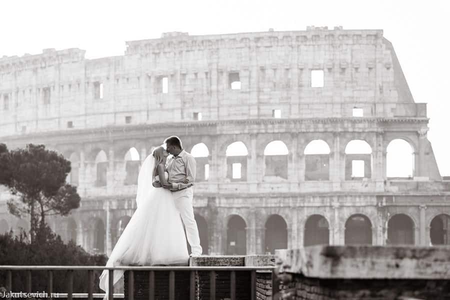 Колизей - фотосессия в Риме