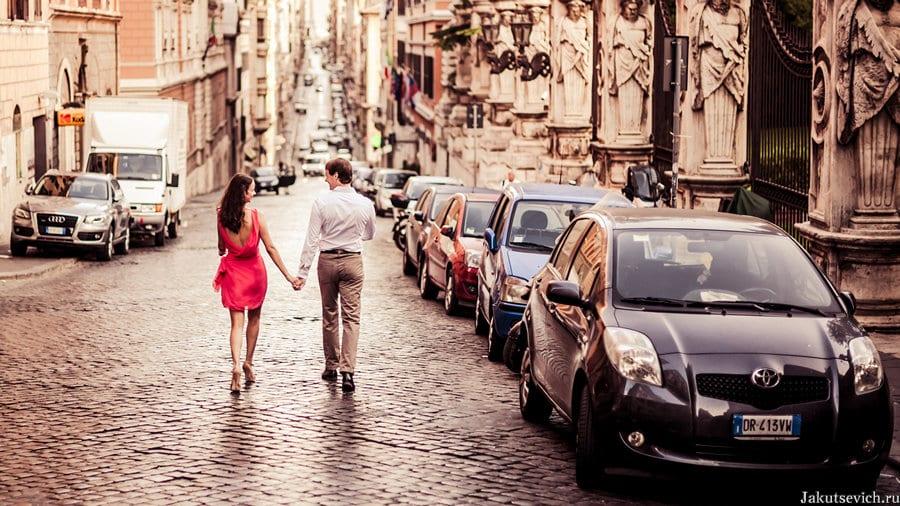 Свадебное путешествие в Италию - фотограф в Риме Артур Якуцевич