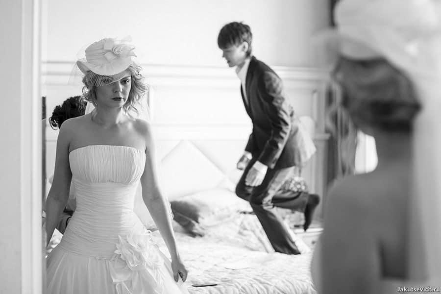 Сборы жениха и невесты в Москве
