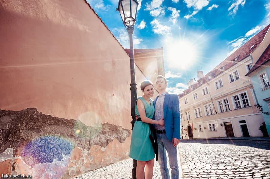 Фотосессия в Праге в мае