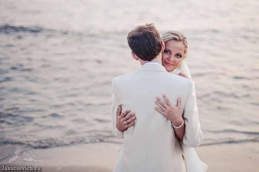 Свадьба на море в Барселоне - фотограф в Испании Артур Якуцевич
