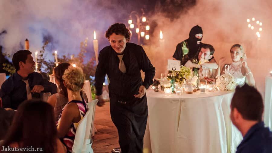Сюрпризы на свадьбе в Испании