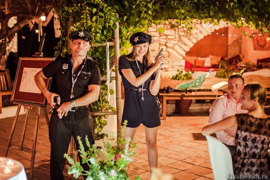 Конкурсы на свадьбе за границей в Испании