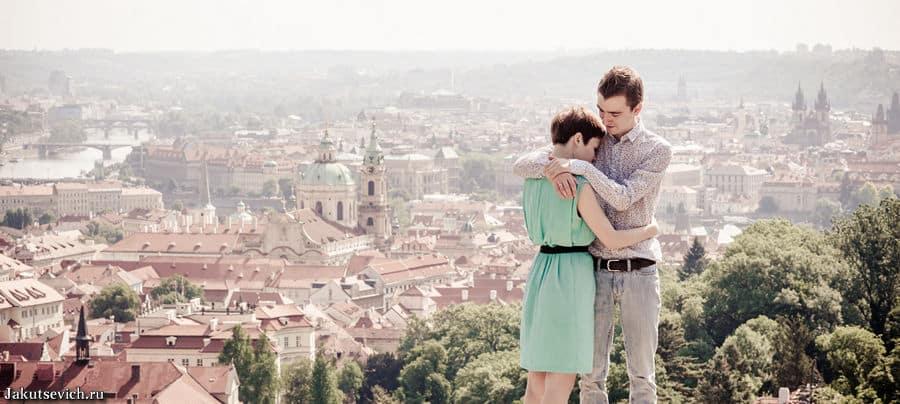 Прага - свадебное путешествие, фотосессия