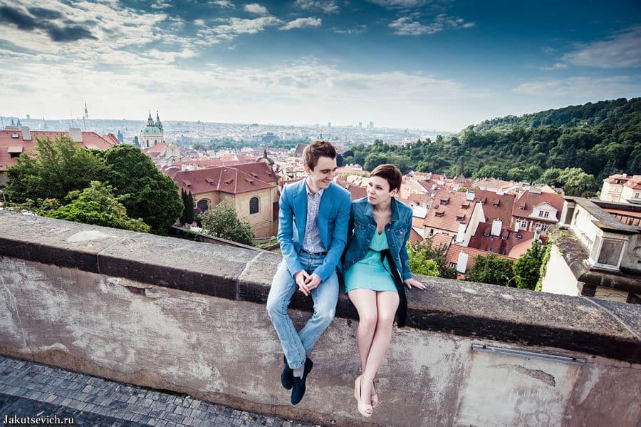 Прага в мае фотосессия Пражский град