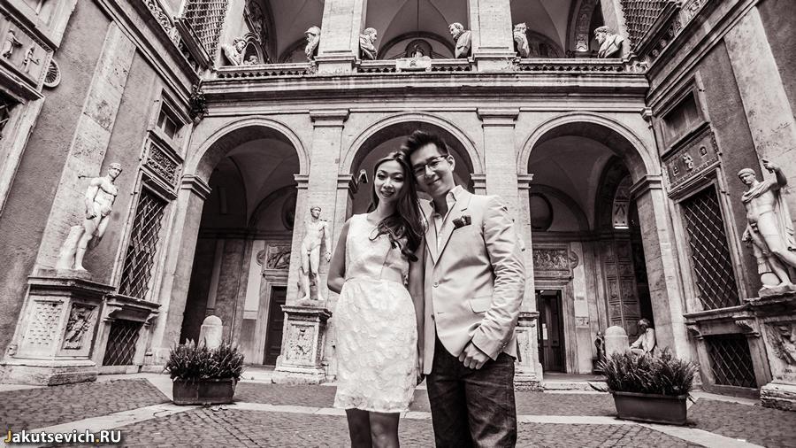 Фотосессия в Риме до свадьбы