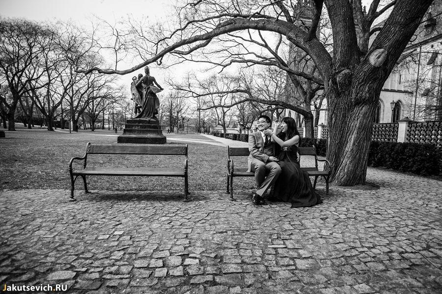 Фотосессия в Праге - крепость Вышеград