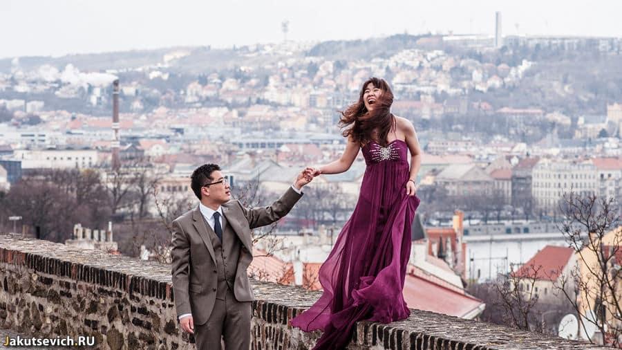Свадебное путешествие в Прагу