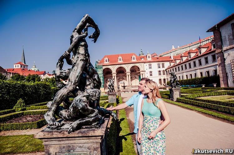 Фотосессия в Чехии у памятников архитектуры
