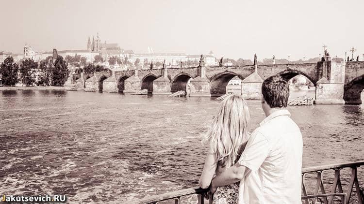 Утро в Праге - отдых в Чехии летом