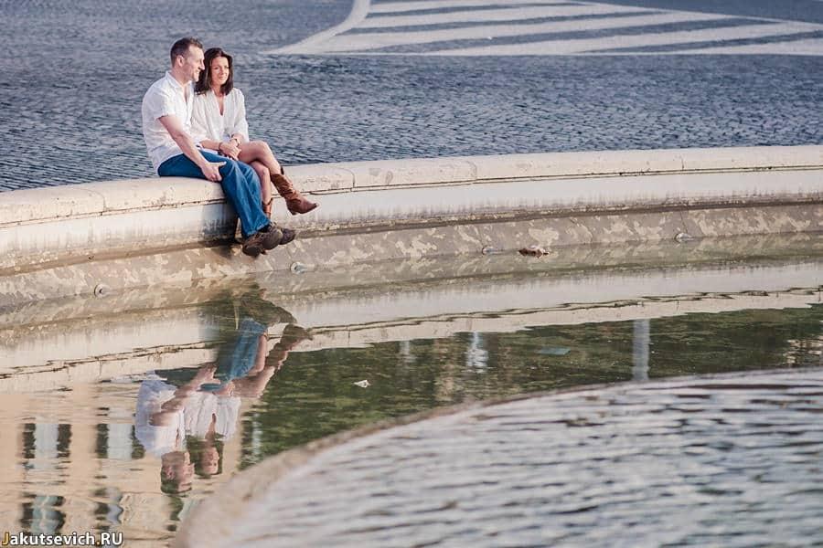 Прогулка по Риму - замечательное утро с фотографом в Италии