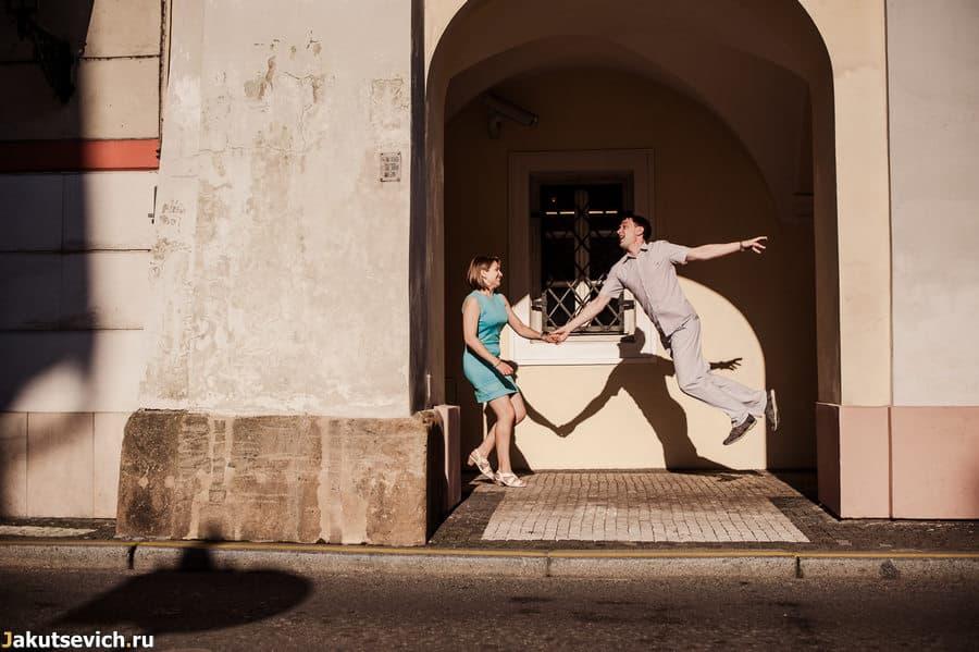Креативная фотосессия в Праге