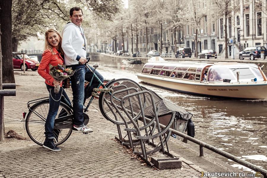 Велосипед в Амстердаме