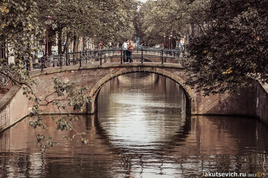 Амстердам каналы фото