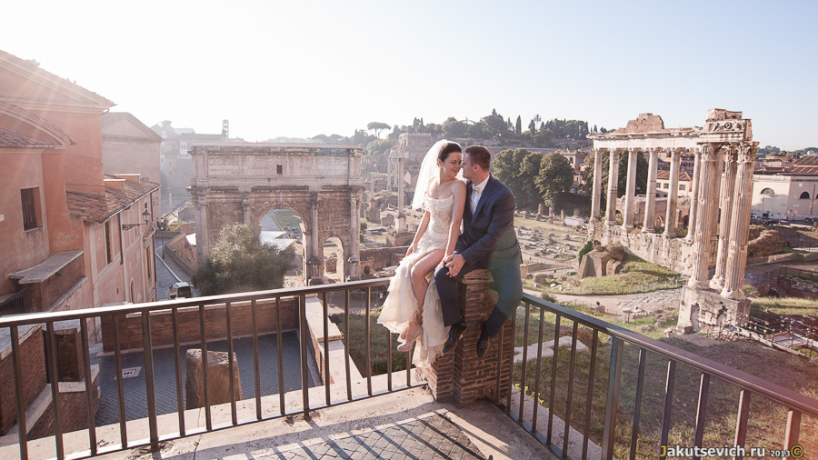 Римский Форум на рассвете