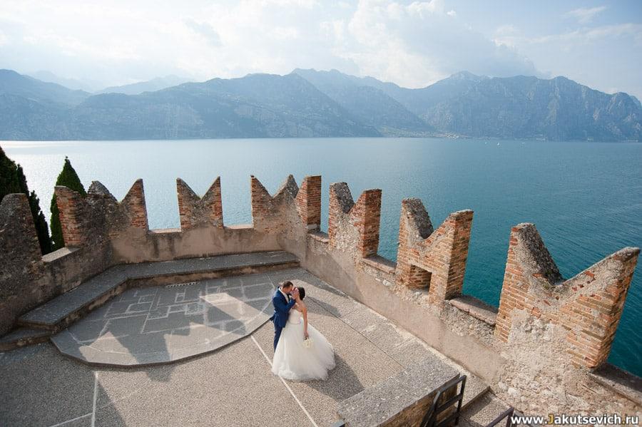 Свадьба на итальянском озере