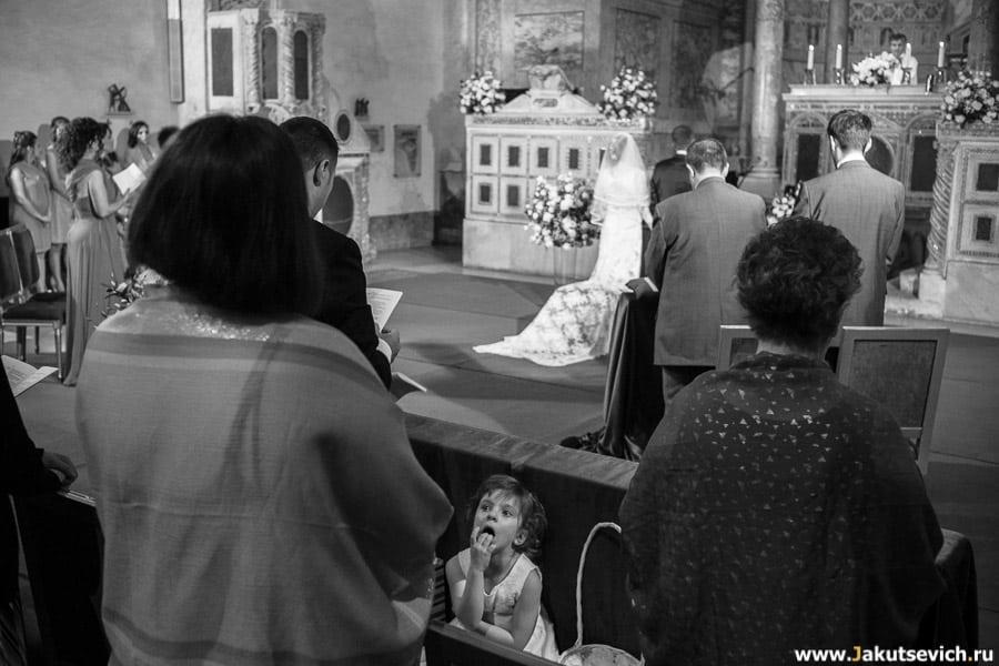 Фотографии со свадьбы в Италии