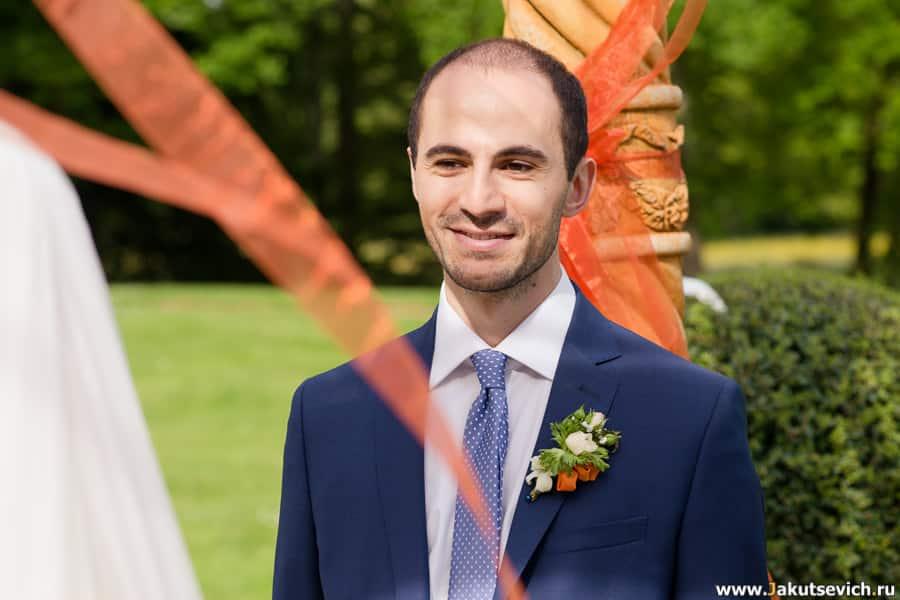 Образ жениха на свадьбу во Франции