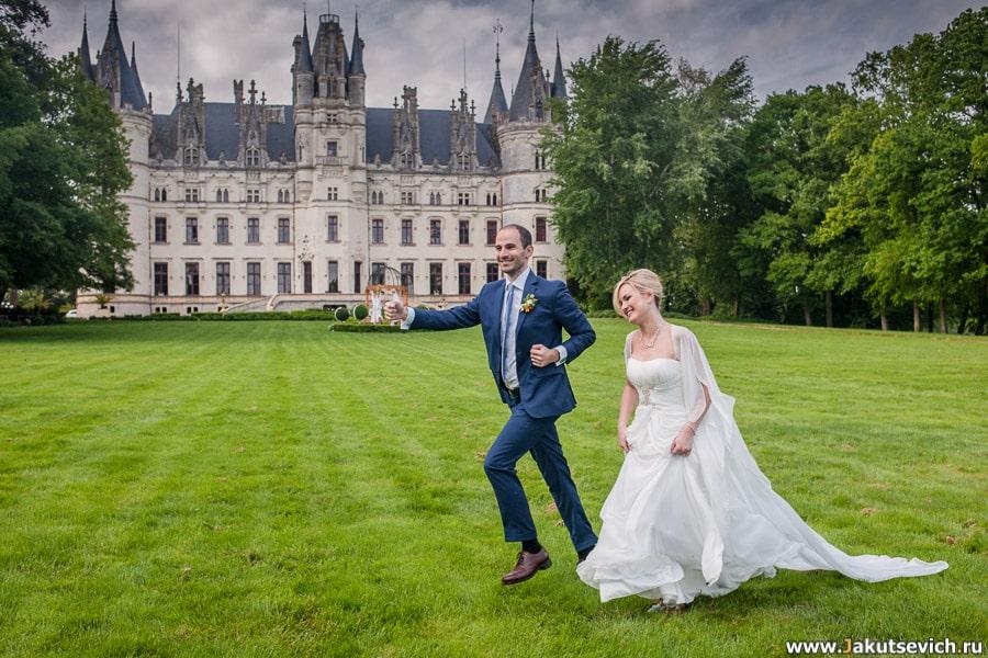 Замок для свадьбы во Франции