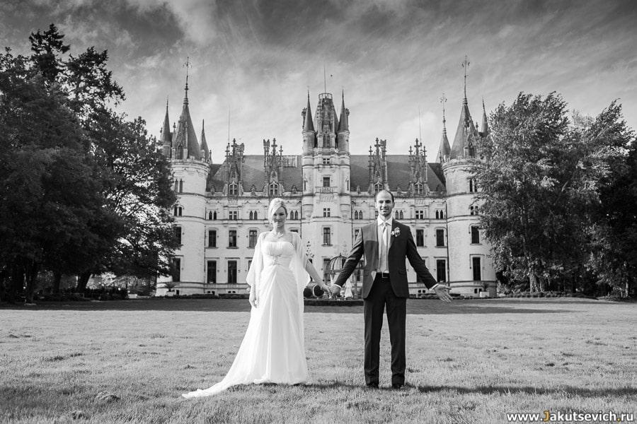 Свадьба во Франции в Chateau Challain