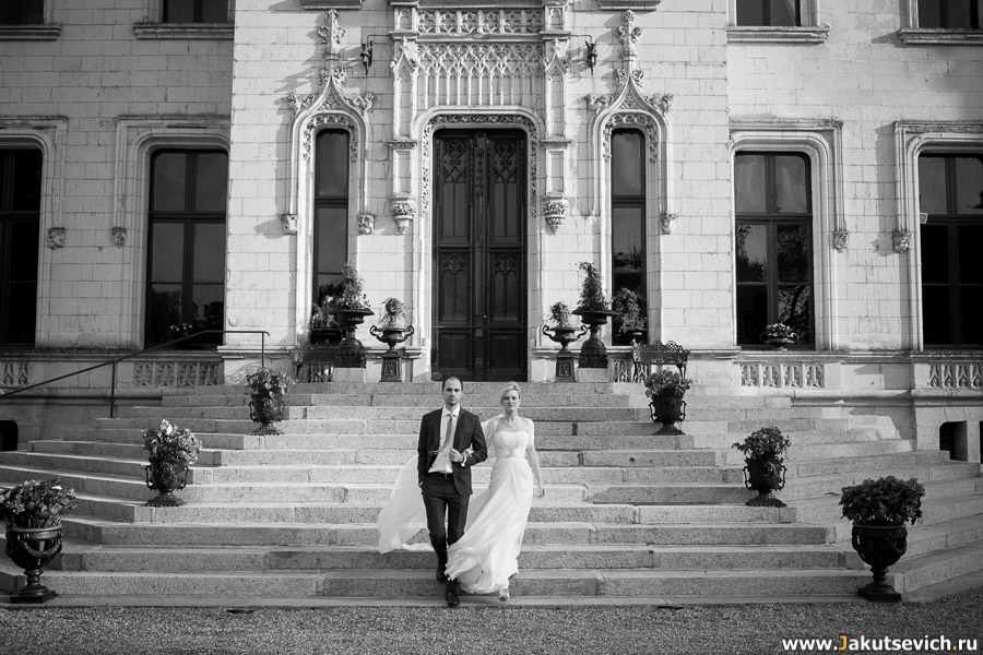 Французский замок для свадеб