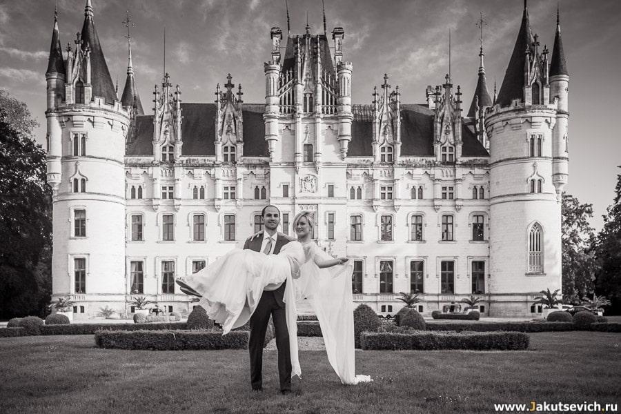 Свадьба замок Франция фото