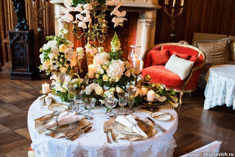 роскошное место для свадьбы во Франции