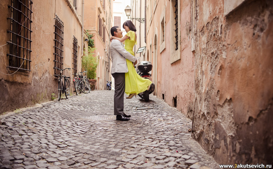 Улочки Рима фото