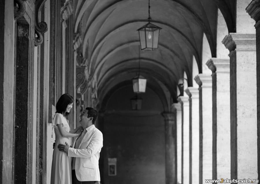 Романтические места Рима