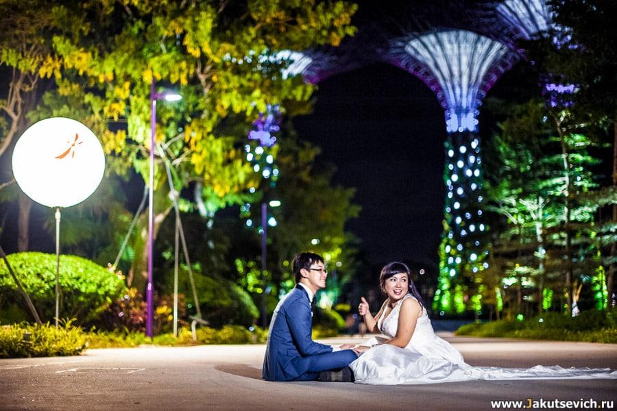 Фотосессия в Сингапуре
