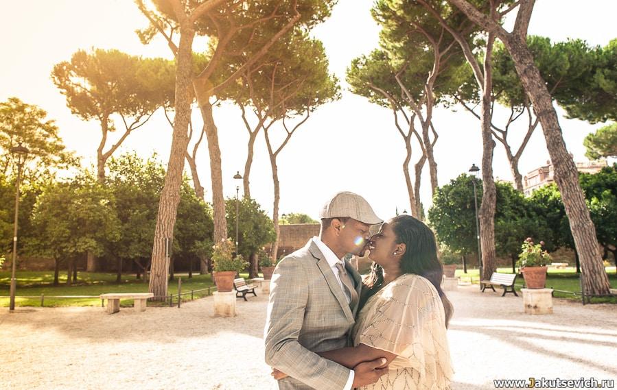 Годовщина свадьбы в Риме и Италии фото
