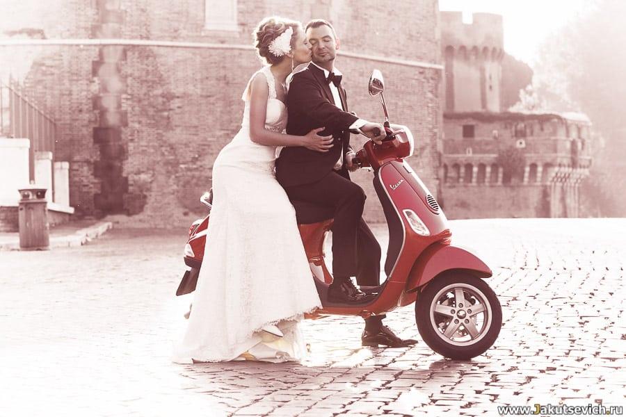 Vespa Рим фото
