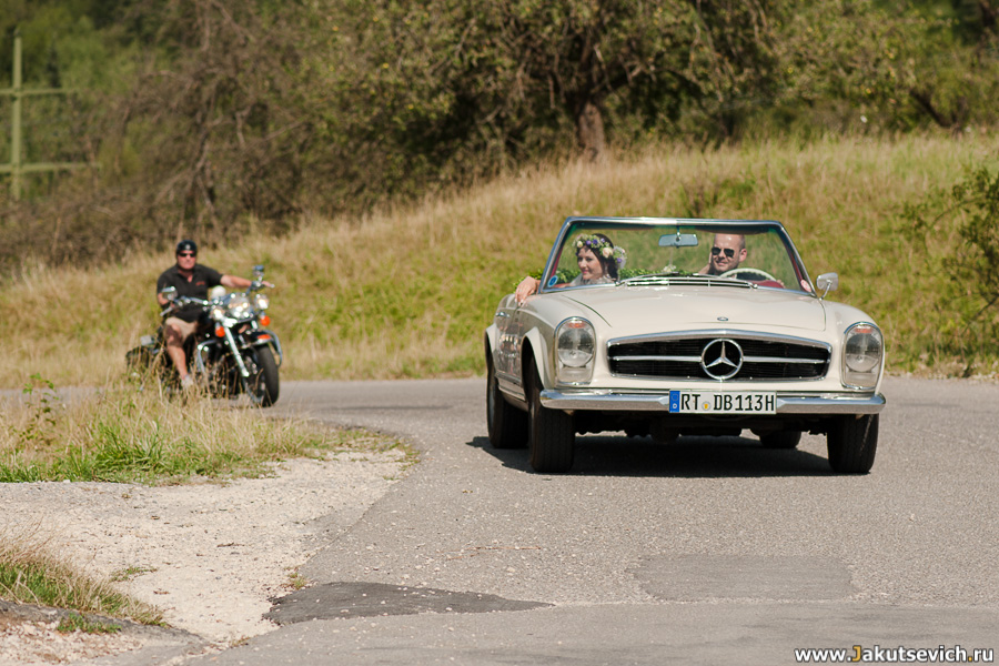 Лучший автомобиль на свадьбу фото