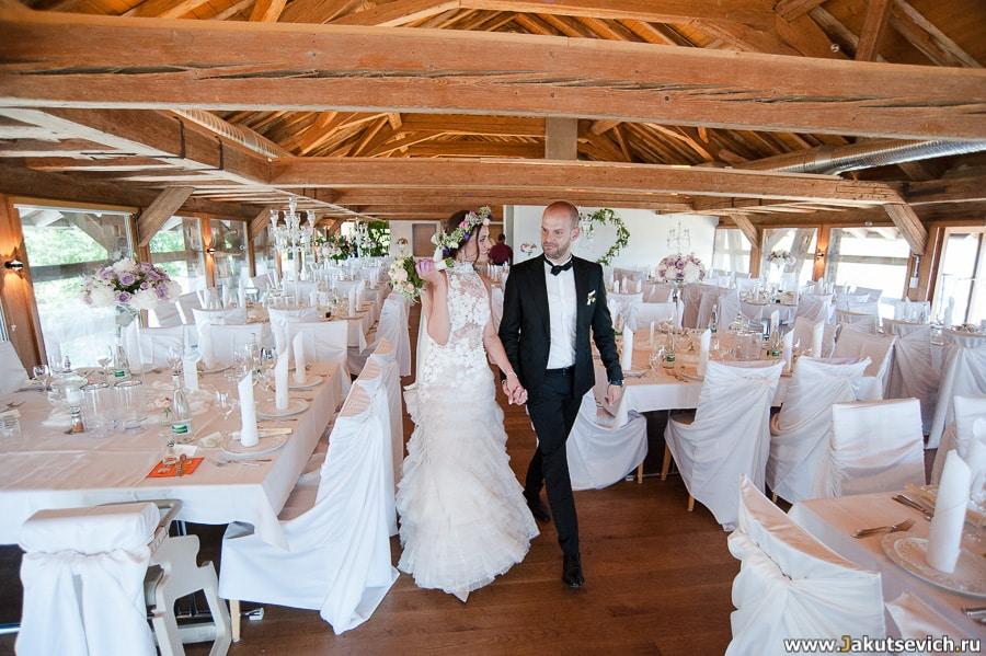 Ресторан на свадьбу за границей