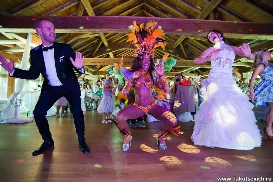 Бразильские танцы на свадьбу