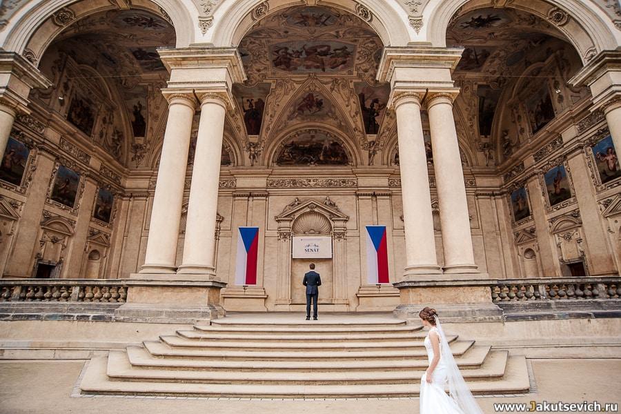 Встреча жениха и невесты фото