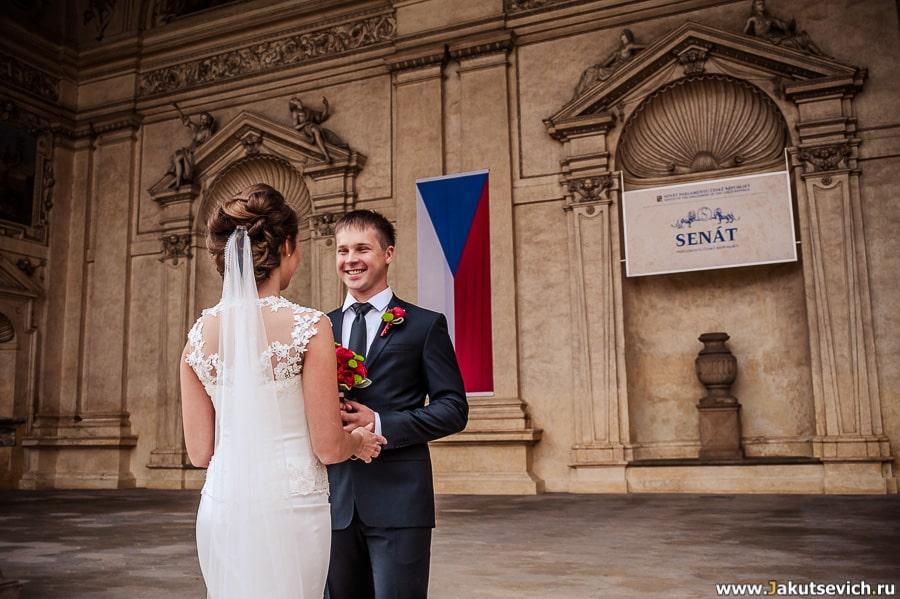 Свадебная фотосессия в Праге