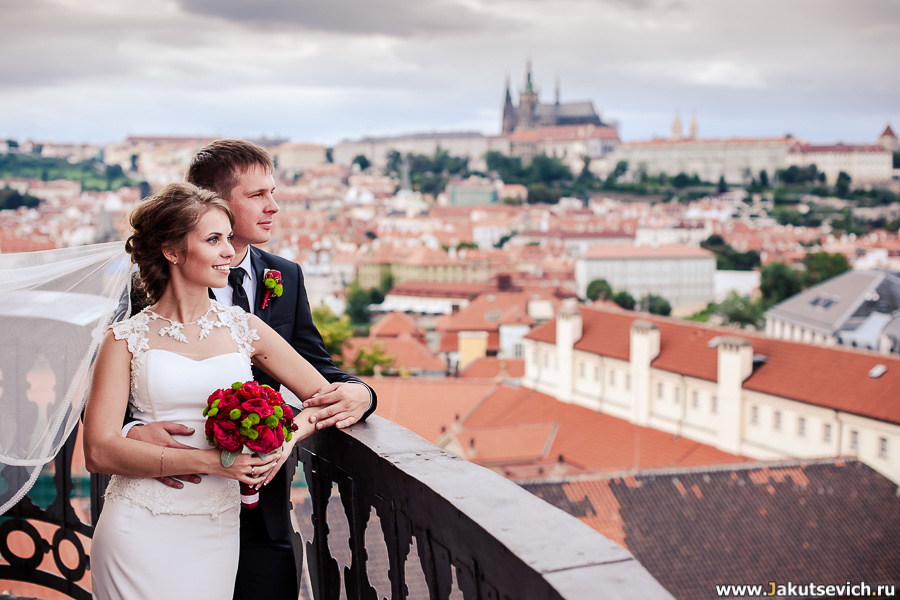 Свадьба в Праге фотограф Артур Якуцевич цена