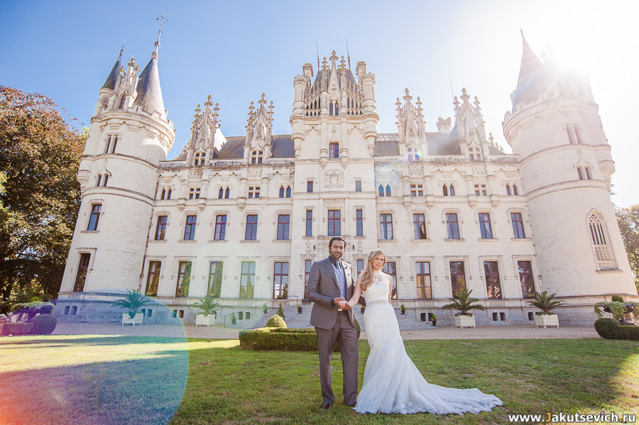 Свадьба во Франции фото
