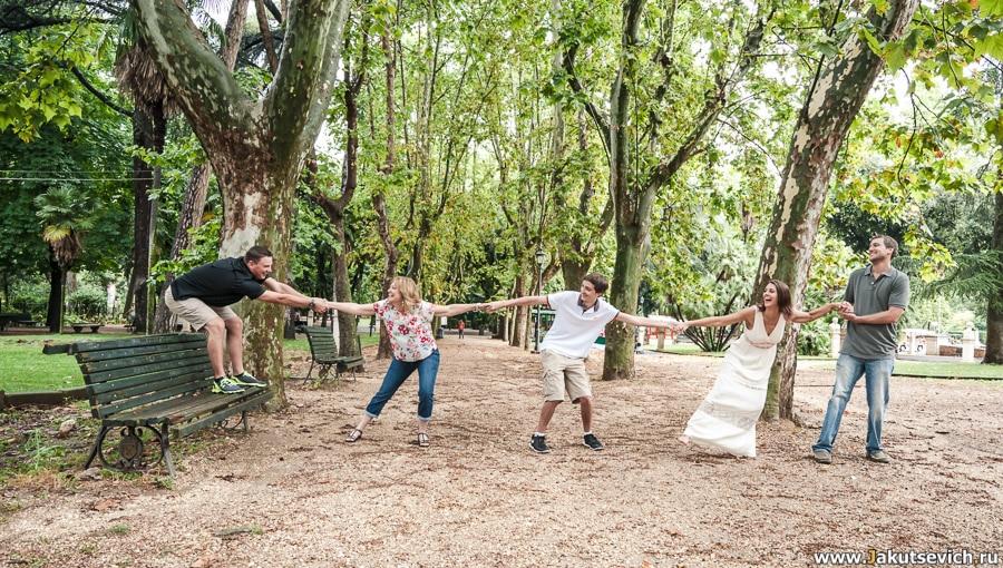 Семейный фотограф в Италии и Риме